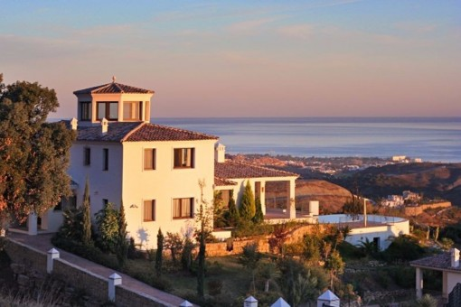Luxuriöse Villa mit paradiesischem Meerblick