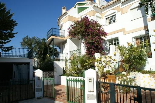 Gemütlich eingerichtetes Reihenhaus in Tórrox, Málaga