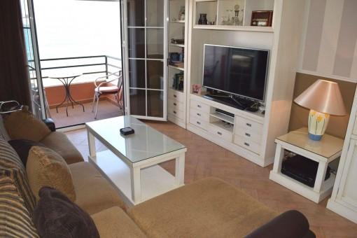 Apartment mit Meerblick in Caleta de Velez,Andalusien