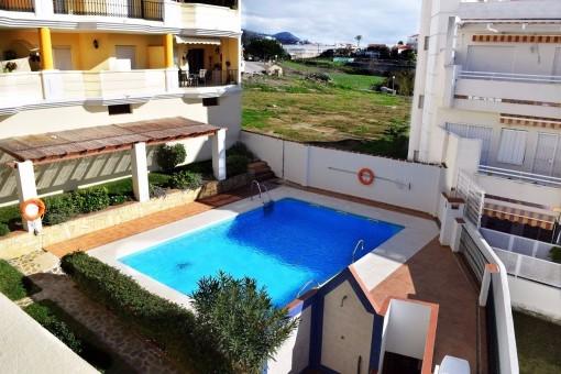 Helles Apartment mit Pool in der Nähe des Strandes in Torrox-Costa,Malaga