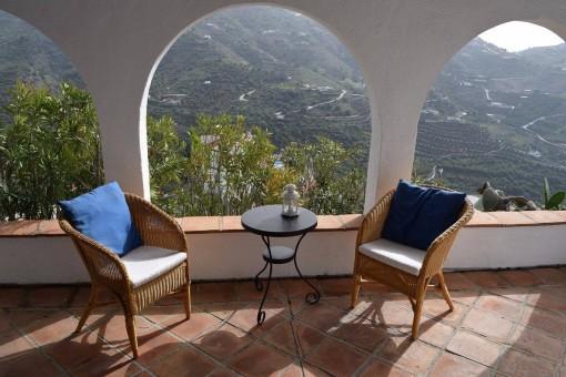 Schöne Finca mit herrlichem Bergblick in Torrox, Málaga