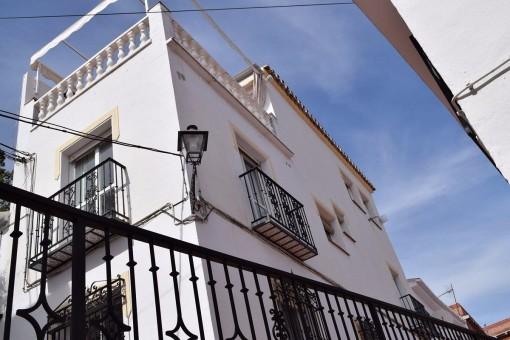 Modernes Stadthaus mit Meer und Bergblick in Torrox,Málaga