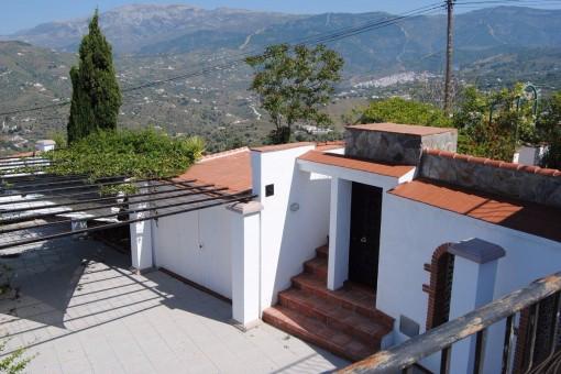 Schöne Villa mit fantastischem Meerblick in Cómpeta, Málaga