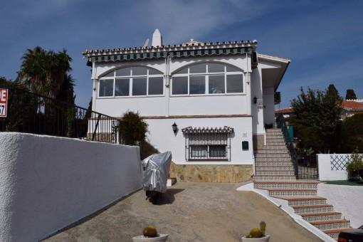 Schöne freistehende Villa mit Meerblick und Pool in Caleta de Velez, Málaga