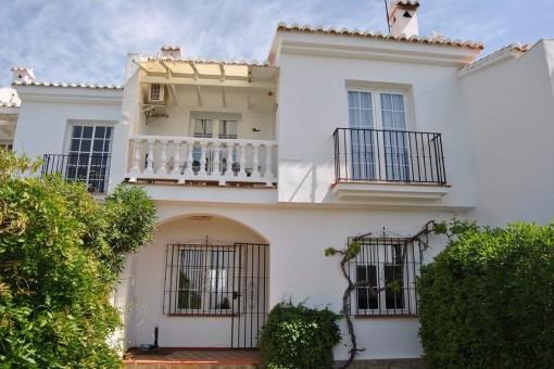 Gemütliches Reihenhaus mit Garten und Pool in Competa, Malaga