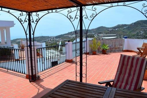 Herrliches Townhouse mit Meerblick in Torrox, Málaga