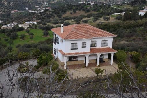 Idyllische Villa mit Bergblick in Alcaucín, Málaga