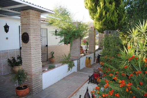 Gemütliche Finca mit Pool in Sedella, Málaga