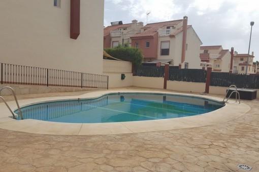 Haus mit Pool und Strandnähe in Almayate