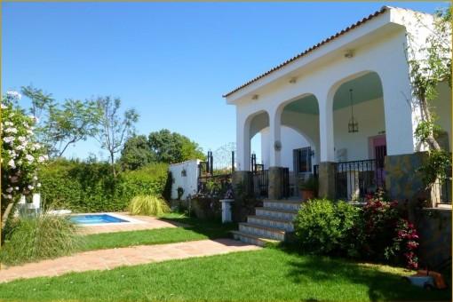 Luxuriöses Landhaus in Jimena de la Frontera in ruhiger Lage