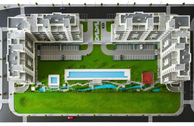 Wunderbare Neubauanlage nur 500m vom Strand...