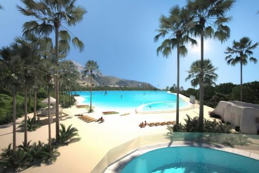 Moderne Wohnanlage mit Crystal Lagoon im...
