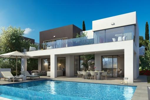 Neue luxuriöse Villa in La Cala de Mijas, Málaga