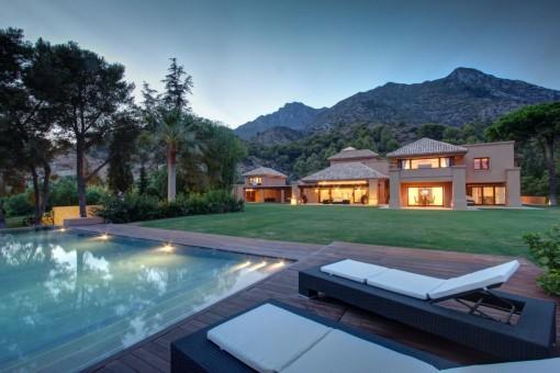 Luxus Villa in exklusiver Wohngegend Marbella