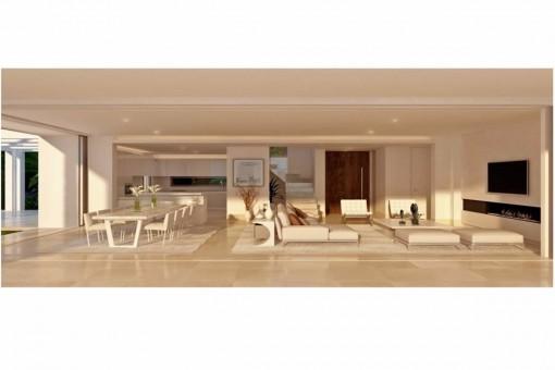 Villa Kaufen In Marbella, Neubau Mit Pool Und Meerblick
