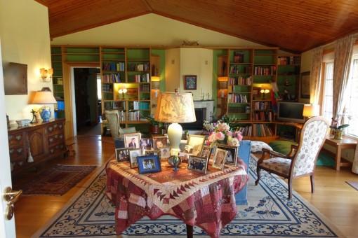 Das luxuriöse Wohnzimmer