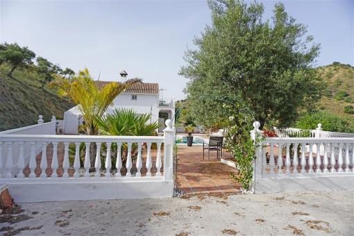 Schöne und gepflegte Finca mit Gästehaus