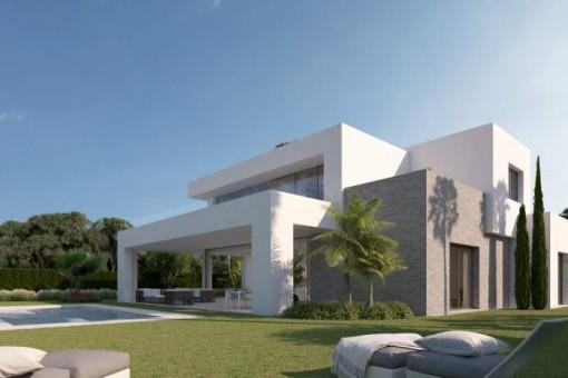 Neues Wohnprojekt von modernen Villen in La Cala de Mijas, Malaga