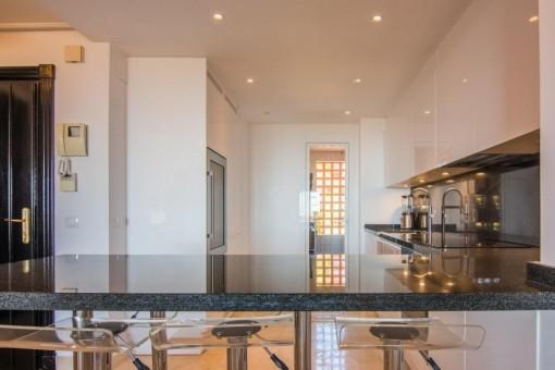 Topmoderne offene Küche