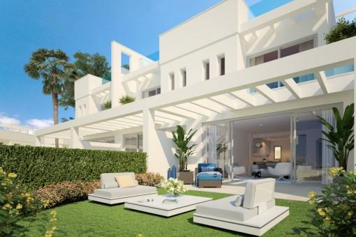 reihenhaus kaufen malaga. Black Bedroom Furniture Sets. Home Design Ideas
