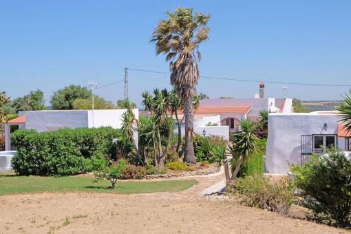 Finca mit Bungalows und Meerblick in Vejer de la Frontera, Cádiz