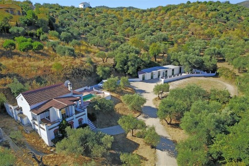 Rustikale Finca mit Stallungen, Monda, Malaga
