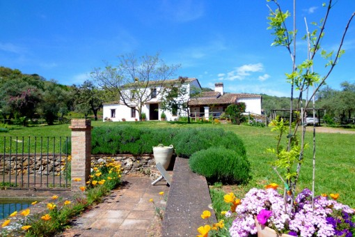 Landhaus mit Pferdestall in Aracena, Huelva