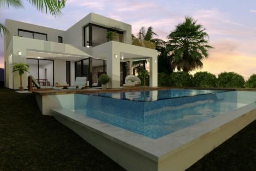 Traum Villa mit Meerblick nach Ihren Wünschen erbaut
