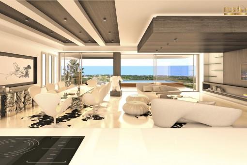 Neue Wohnanlage mit traumhaften Wohnungen, Estepona, Malaga