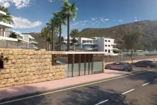Neue, moderne Wohnungen in Benahavis, Marbella