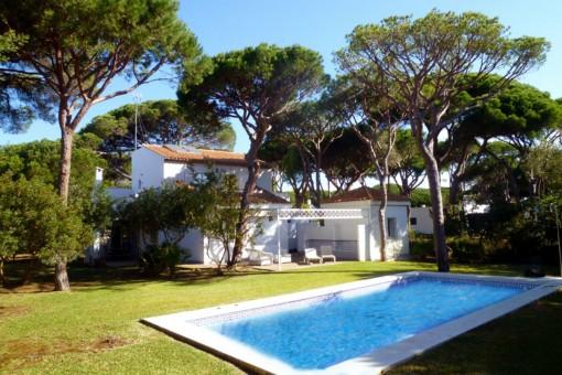 Romantisches Haus mit Pool in Conil de la Frontera, Cádiz