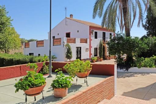 Rustikales Landhaus für Pferdeliebhaber in Carmona, Sevilla