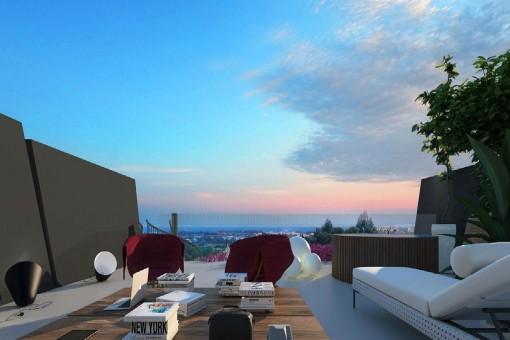 Wunderschönes Luxusapartment im sonnenverwöhnten Estepona