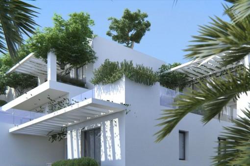 Schönes und modernes Haus mit Pool in Mijas