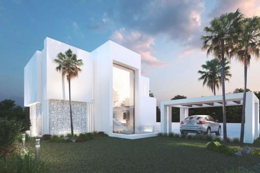 Wunderschöne Villa mit tollem Blick auf das Mittelmeer in Mijas