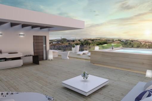 Atemberaubende Luxusvilla auf Golfsplatz in Estepona
