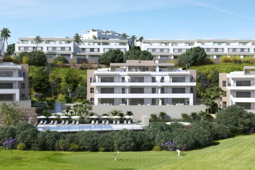 Atemberaubende Wohnung im La Cala Golf Resort, Mijas