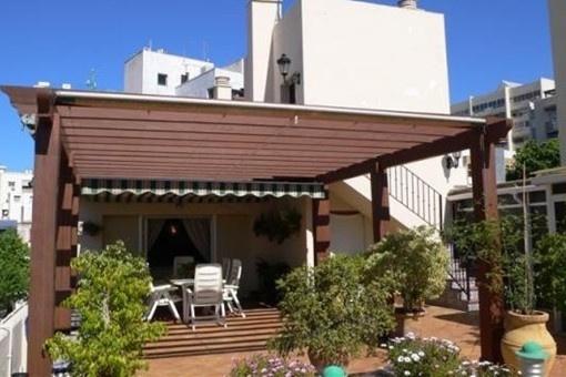 Sonnige Dachgeschosswohnung im Zentrum Marbellas