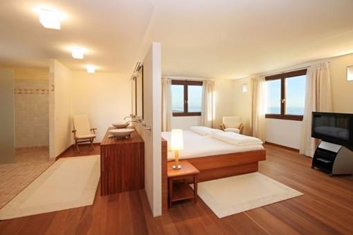 ... Eines Der Exquisiten Schlafzimmer Mit Badezimmer En Suite ...