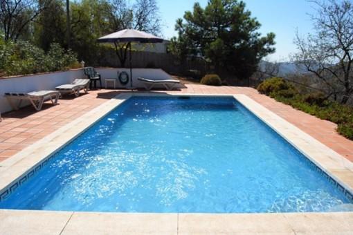 Großzügige Finca mit Pool in Cómpeta, Málaga