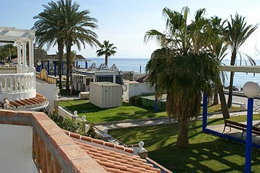 Villa mit Meerblick und Pool in Tórrox, Malaga