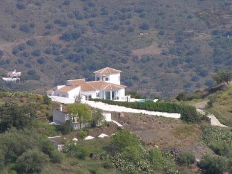 Villa mit Pool und Meerblick in Sayalonga, Andalusien