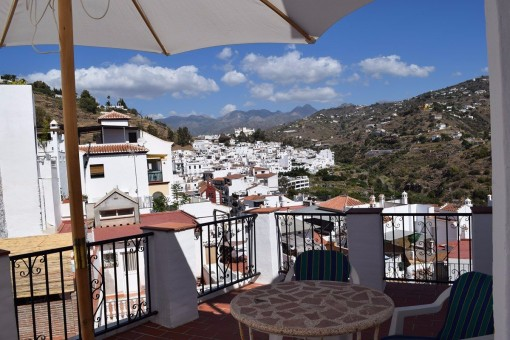 Charmantes Stadthaus mit tollem Blick auf die Berge