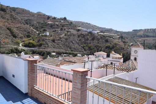 Terrasse mit herrlicher Aussicht