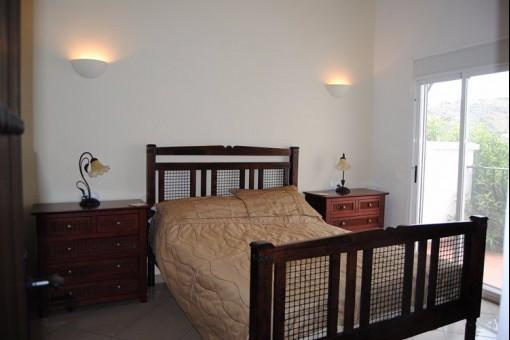 Gemütliches Hauptschlafzimmer