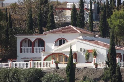 Wunderschöne Villa mit Panoramablick auf das Meer und die Berge in Torrox, Málaga
