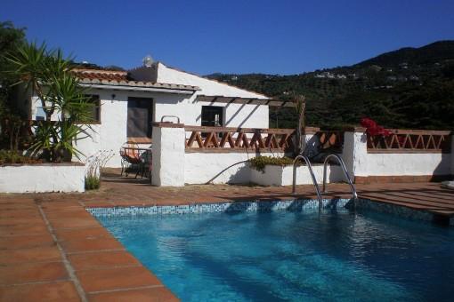 Authentisches Landhaus mit Charakter und Charme in Frigiliana, Málaga