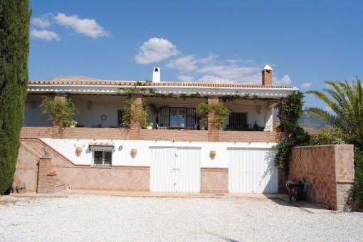 Wunderschönes Landhaus in andalusischem Cortijo-Stil in Sedella, Málaga