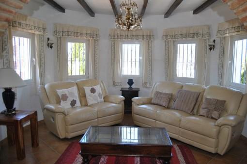 Elegantes Wohnzimmer