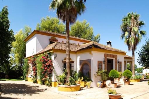 Traditionelle Villa nahe Carmona